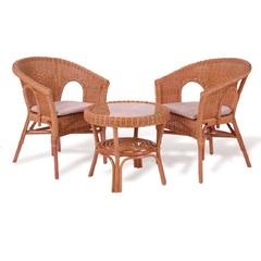 Плетеный комплект мебели из ротанга Vinotti Бали