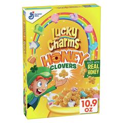Готовый завтрак Lucky Charms Honey Clovers медовые клеверы, 309 г
