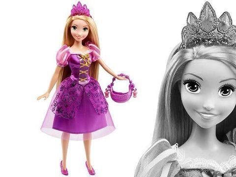 Кукла Рупунцель, Праздничное настроение, Принцессы Диснея