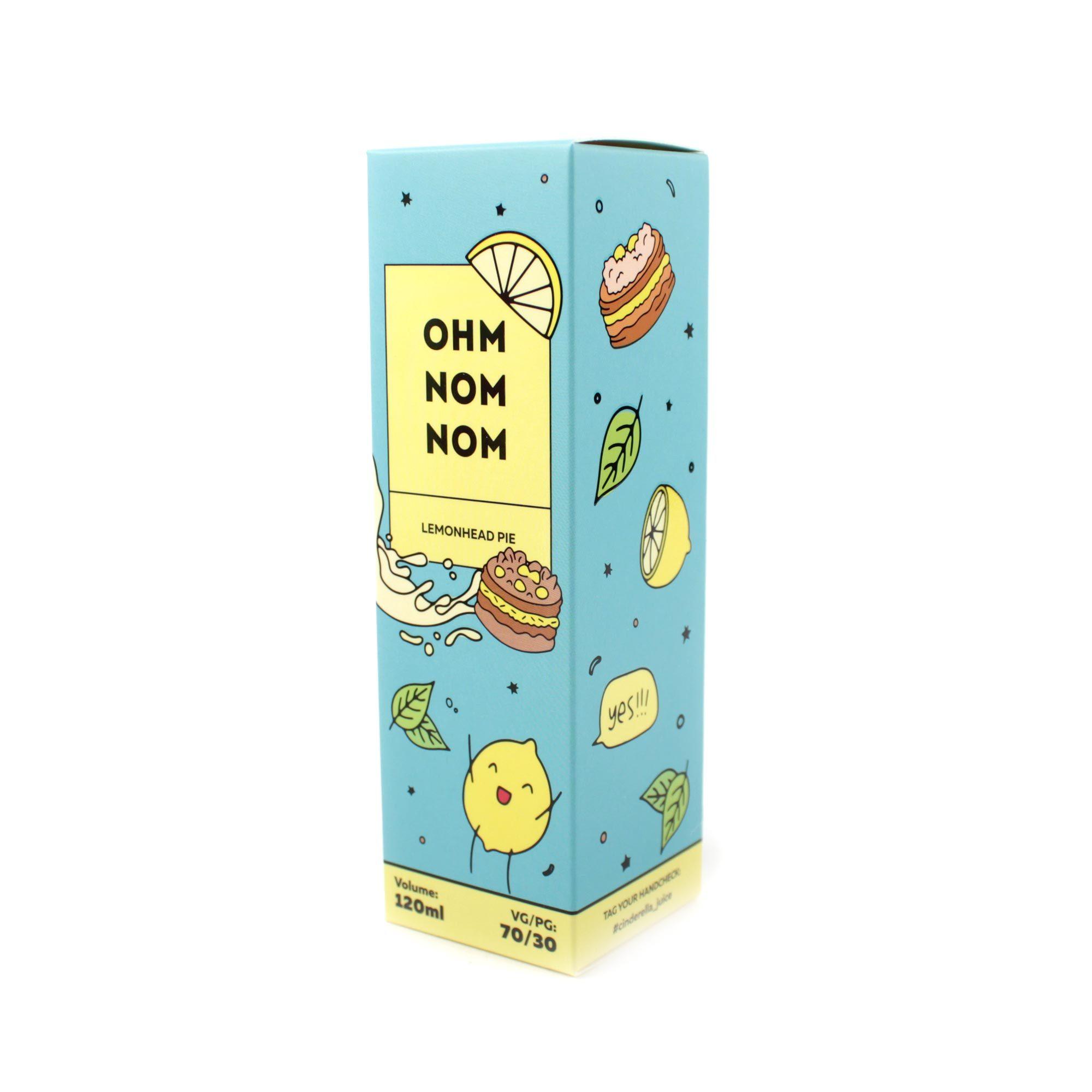Жидкость OHM NOM NOM Lemonhead Pie