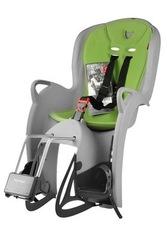 Детское велокресло Hamax Kiss Medium Grey/Green (Серый/Зеленый) - 2
