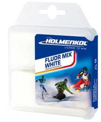 Парафин Holmenkol Fluormix White (0°/-14°)