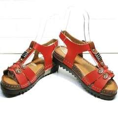 Кожаные сандали на платформе Rifellini Rovigo 375-1161 Rad.