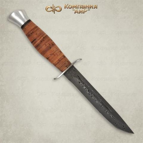 Нож Финка-2, береста, алюминий, ZD 0803