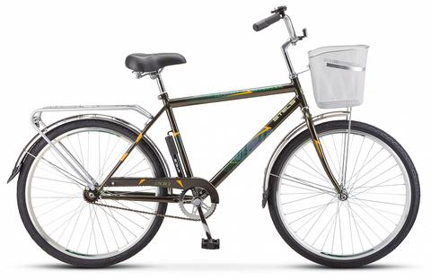 Дорожный велосипед Stels Navigator-200 Gent оливковый