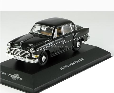 Sachsenring P240 1958 black limited edition 499 pcs. Cars & Co 1:43