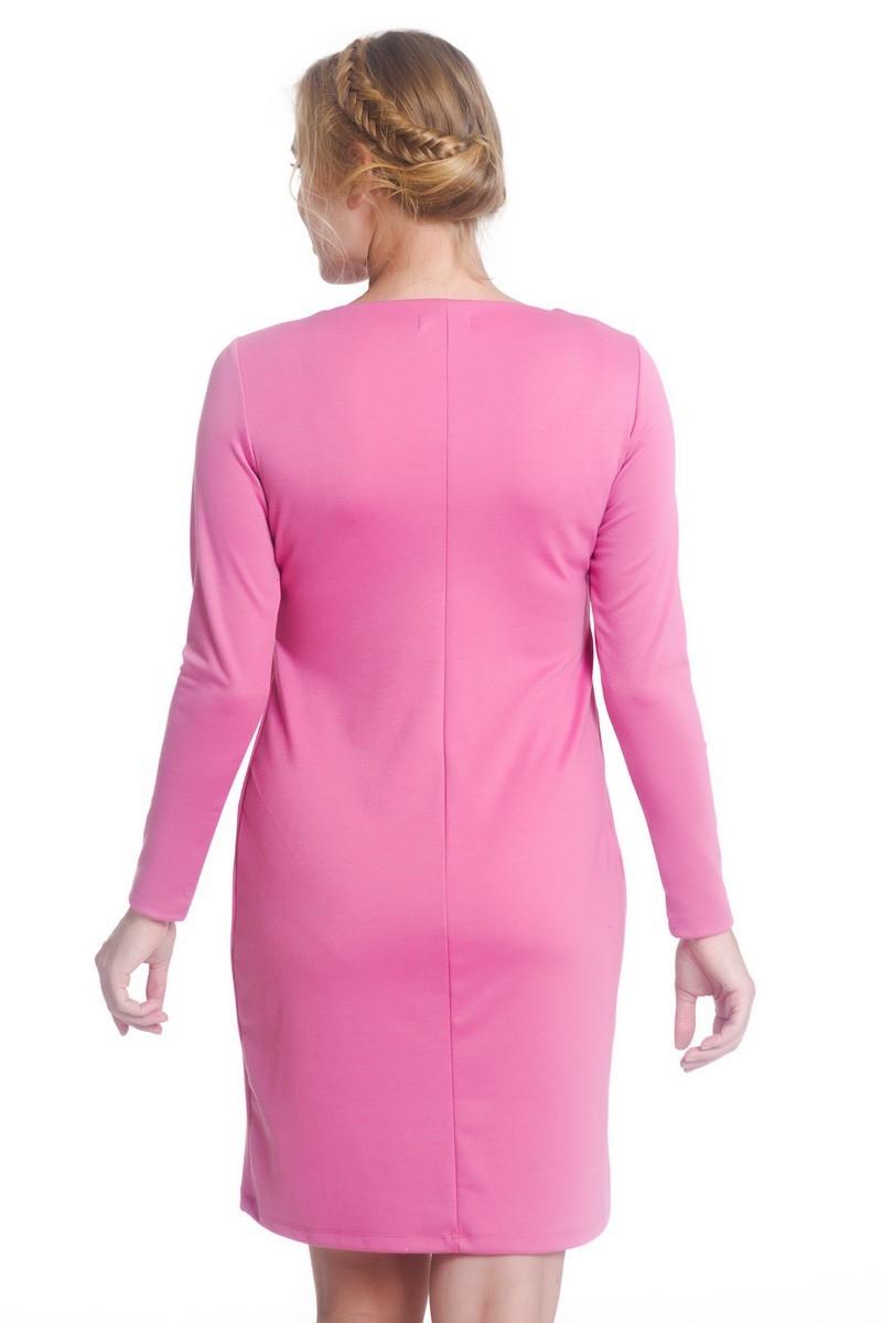 Платье для беременных и кормящих 07962 розовый