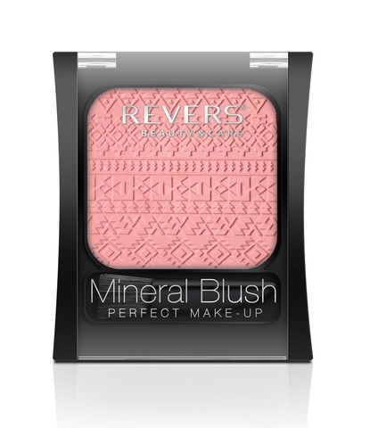 REVERS Румяна 7,5г MINERAL BLUSH Perfect make-up №14 (*3)