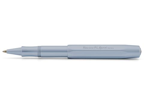 Ручка гелевая (роллер) AL Sport 0.7мм голубой корпус