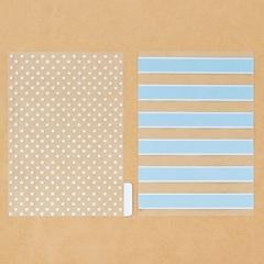 Набор ацетатных разделителей для планера «Мята», 6 листов, 16 × 25 см