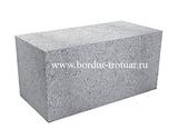 Блок керамзито-бетонный полнотелый