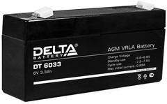 Аккумулятор Delta 6В 3,3 А\Ч