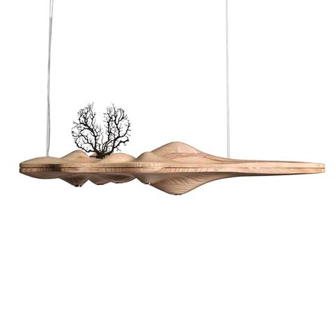 Подвесной светильник UFO by Light Room L120 (светлое дерево)