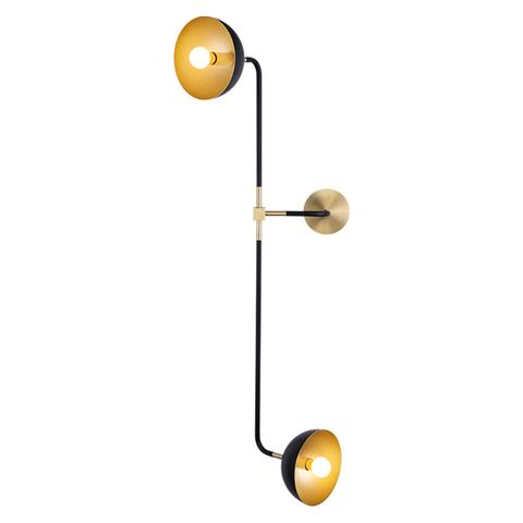 Настенный светильник копия Beaubien Double Shade by Lambert & Fils