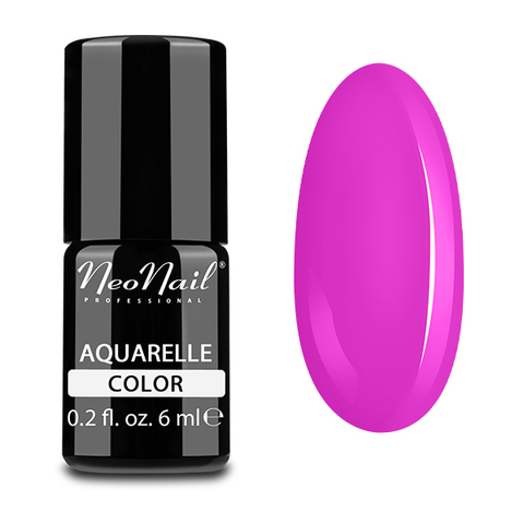 NeoNail Гель-лак акварельный UV 6ml Fuchsia Aquarelle №5506-1