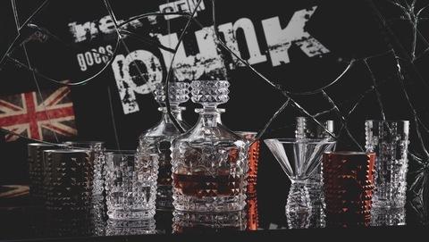 Бокал Whisky   Ruby 348 мл артикул 100056. Серия Punk