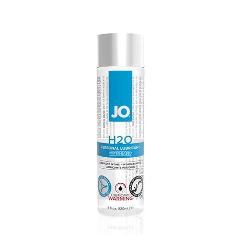 JO H2O Warming, 120 ml Классический возбуждающий лубрикант на водной основе