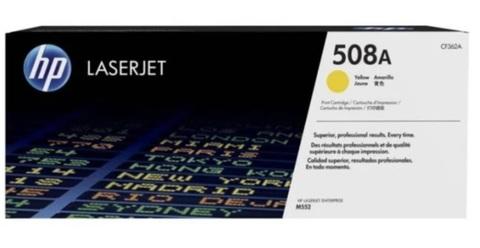 Оригинальный картридж HP CF362A 508A желтый