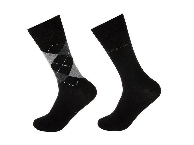 Носки мужские черные JOHN FRANK - 2 пары
