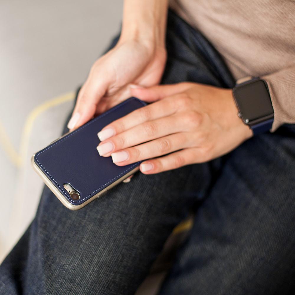 Case for iPhone SE - blue indigo