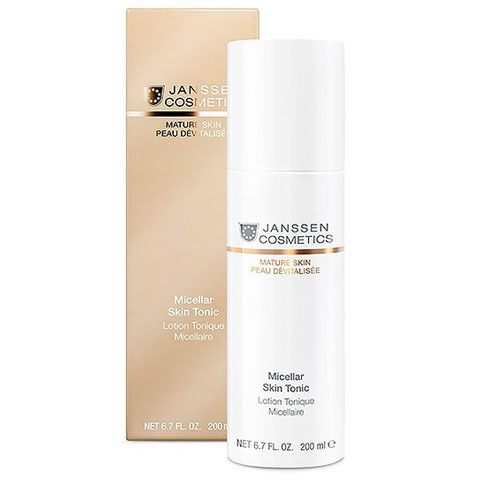 Janssen Mature Skin: Мицеллярный тоник для лица с гиалуроновой кислотой (Micellar Skin Tonic)