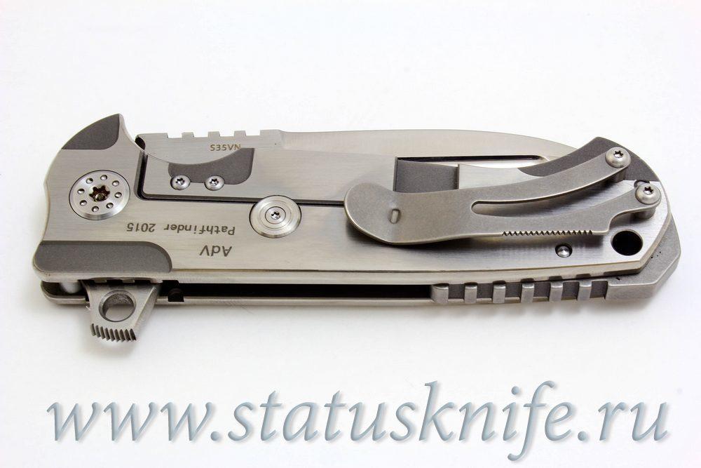 Нож Pathfinder Mid-Tech Andre De Villiers - фотография