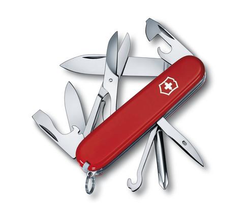 Складной нож Victorinox Super Tinker (1.4703) 91 мм., 14 функций, цвет красный - Wenger-Victorinox.Ru