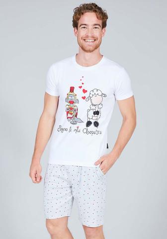Мужская пижама для влюбленных