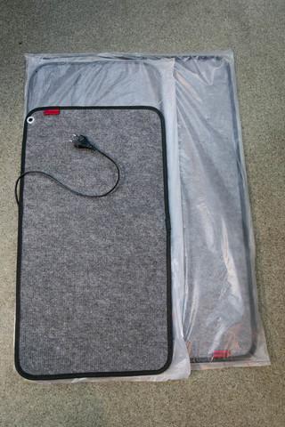 Коврик с подогревом 80х55 см. 80 Вт. ТК-3 черный