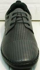 Легкие летние туфли в спортивном стиле мужские Ridge Z-430 75-80Gray.