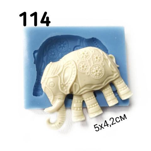 0114 Молд силиконовый Слон индийский