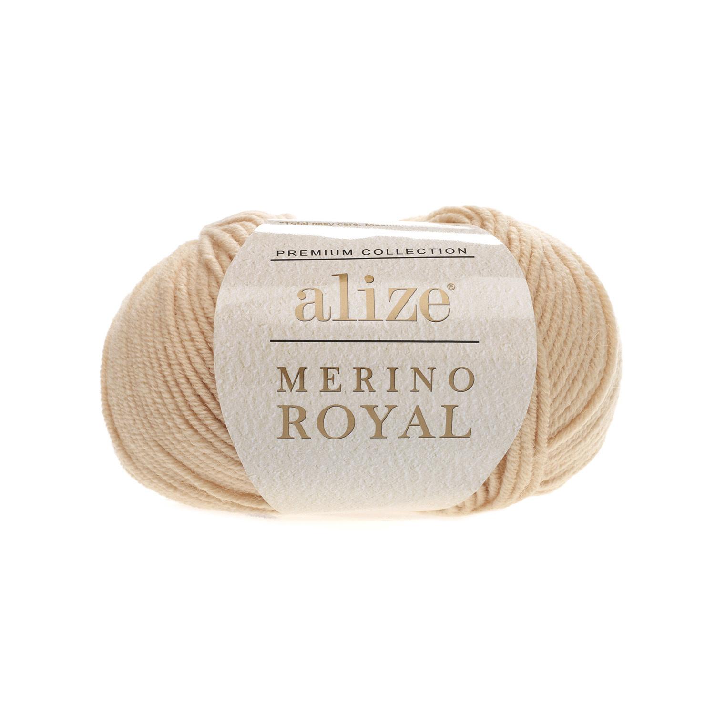 Alize Merino Royal бежевый 96