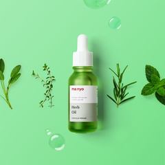 Лечебное травяное масло-антисептик для проблемной кожи, 20 мл / Manyo Herb Oil