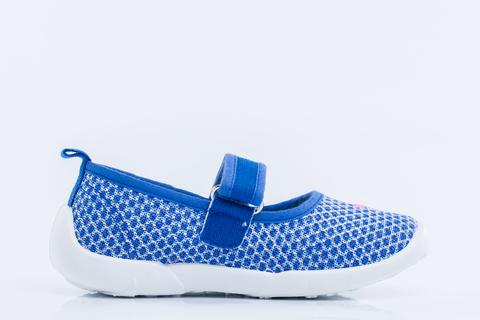 Туфли текстильные лазурные, Котофей (ТРК ГагаринПарк)