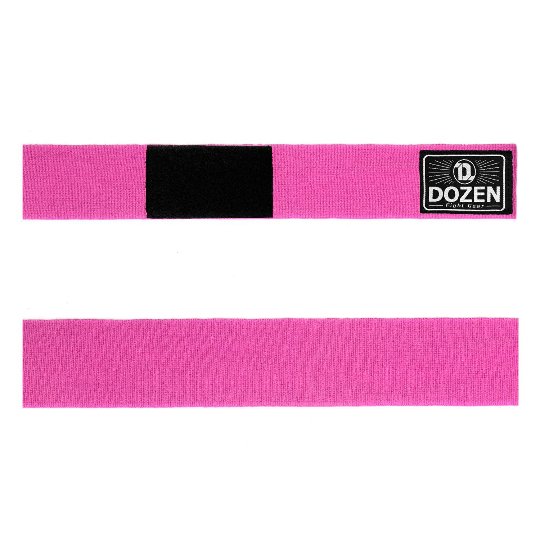 Бинты розовые Dozen Monochrome Semi-elastic лента детальный вид