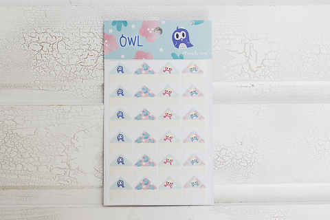 Уголки Owly Blue