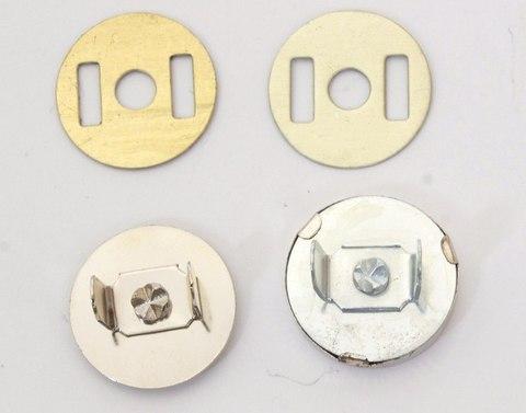 Застежка магнитная с  усиками 18 мм