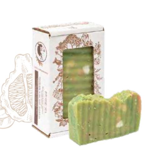 Мыло для душа «Провансальская лаванда» релаксирующее. Сварено из растительных масел горячим способом, 110 ± 10 г