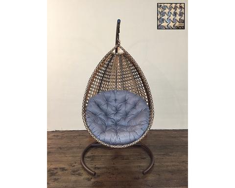 Подвесное кресло Олива бежевая