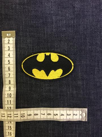 Размеры нашивки Бетмен