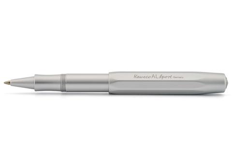 Ручка гелевая (роллер) AL Sport 0.7мм цвет корпуса серебряный