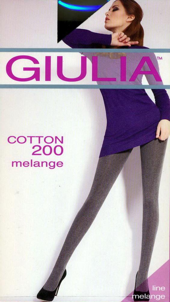 Колготки Giulia Cotton Melange 200