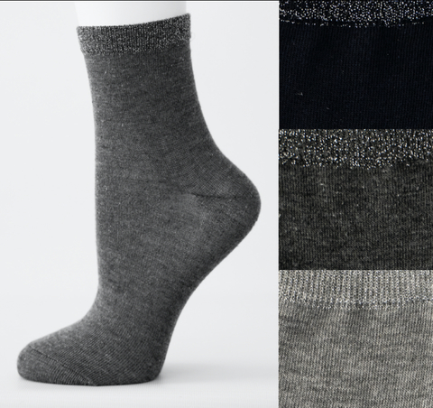 VN077 носки женские, ассортимент 36-41 (3шт)