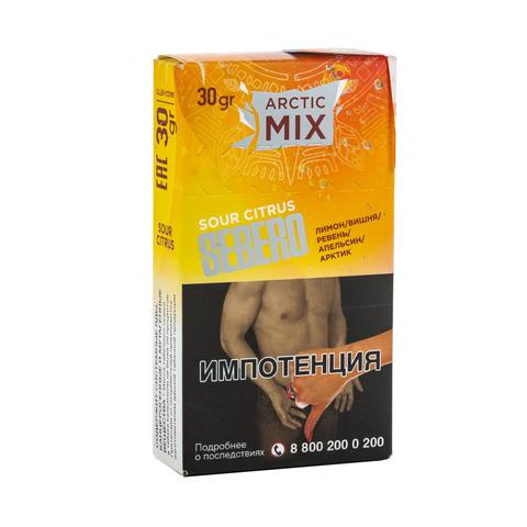 Табак Sebero Arctic Mix Sour Citrus (Лимон, Вишня, Ревень, Апельсин, Арктик) 30 г