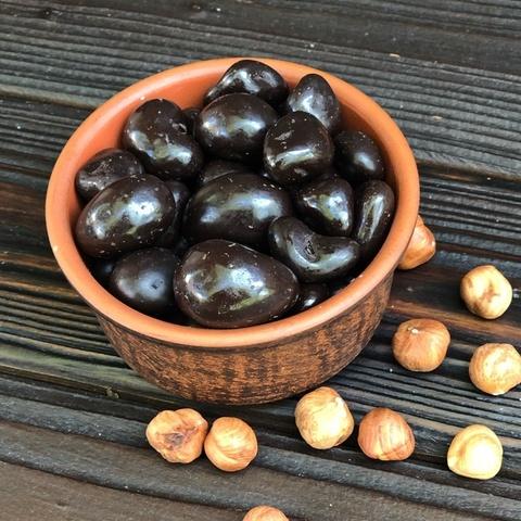 Фотография Драже фундук в темном шоколаде, 1 кг купить в магазине Афлора