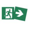 Универсальная пиктограмма для указателя эвакуационного выхода EASY COMBO