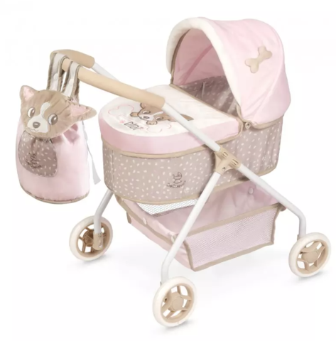 DeCuevas Коляска для куклы с сумкой, серии Диди, 56см (86043)
