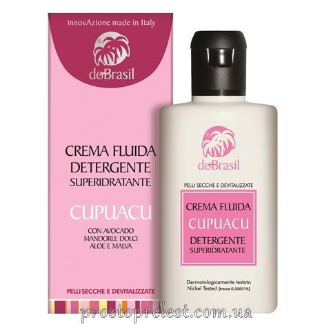 Dobrasil crema fluida detergente superidratante cupuasu-Суперувлажняющий очищающий крем-флюид с маслом купуасу
