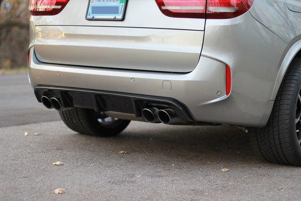 Карбоновый диффузор  для BMW X5M F85