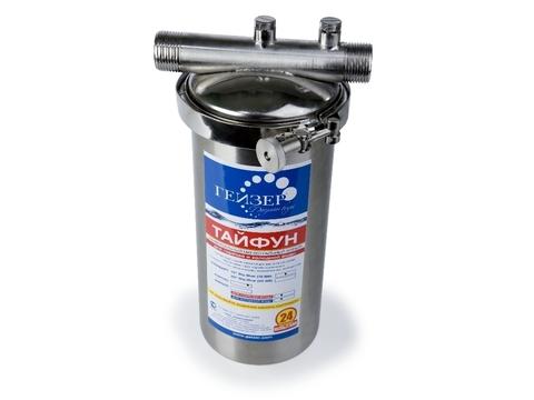 Фильтр Гейзер Тайфун 10SL 3/4 (для горячей и холодной воды)